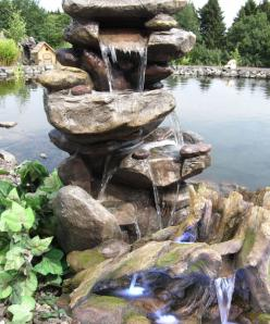 Polyresin Gartenbrunnen