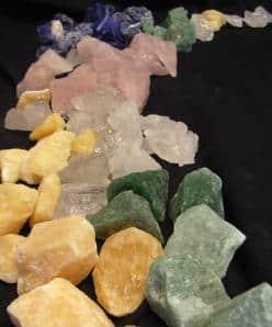 Mineralienbruch (Chips)