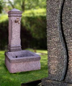 Granit-Brunnen