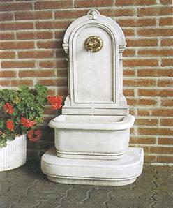 Bassena- und Wandbrunnen