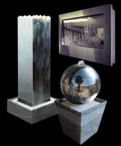 Edelstahl-Brunnen