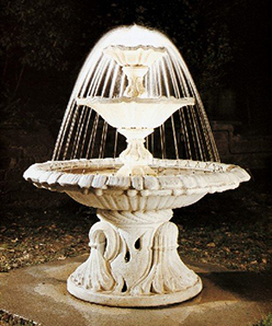 Brunnen mit Sprühring