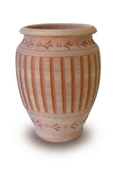 Terracotta Gefäße natur