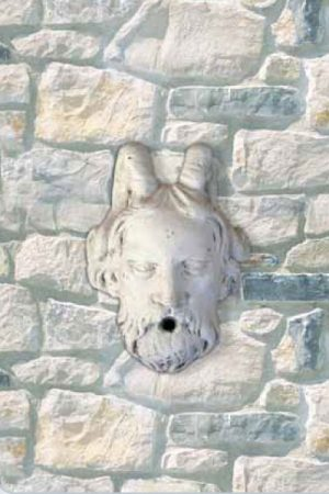 "Wandmaske ""Mascherone Vello D'Oro"" IP"