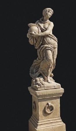 """Gartenfigur """"Atena"""" antiquariato IP"""
