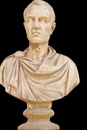 """Gartenfigur """"Busto Giulio Cesare"""" antiquariato IP"""