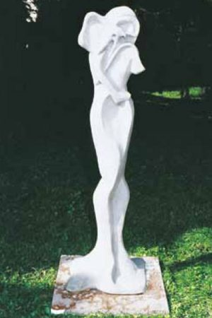 "Gartenfigur ""Abbraccio Di Rondine"" IP"