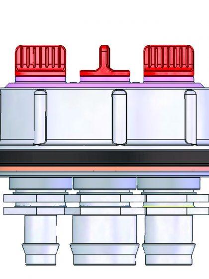3 - Wege - Wasserventil
