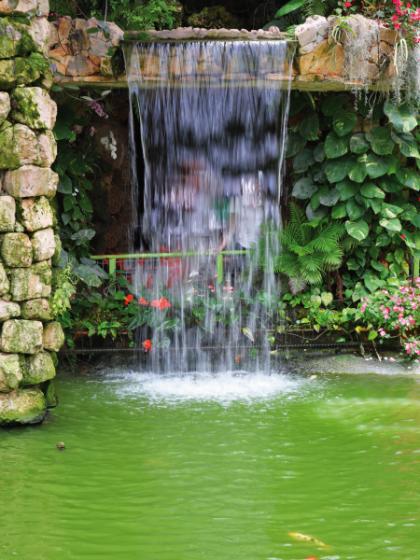 Edelstahl Wasserfall 30 cm