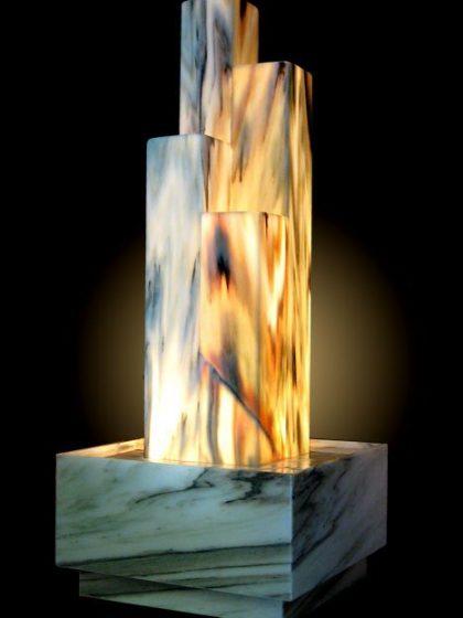 """Lichtbrunnen """"Manhatten-Deluxe"""""""