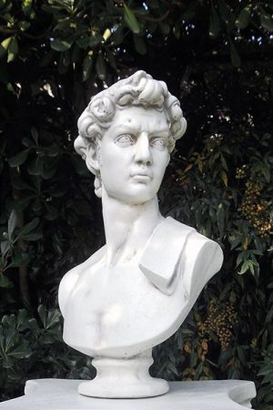 "Gartenfigur ""Busto David 2"" IP"