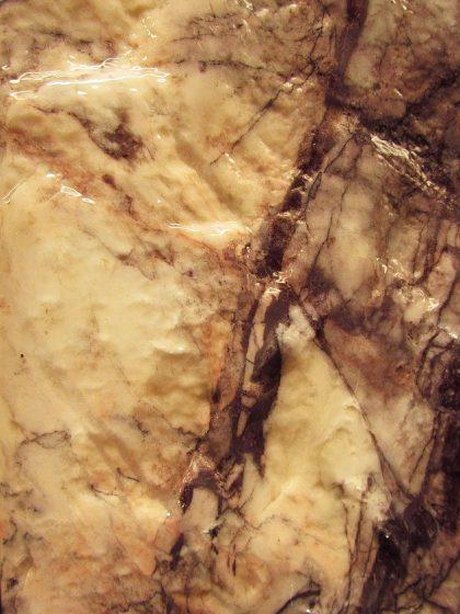 Marmor-Wasserwand 147cm - Purple Wave