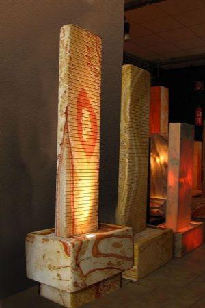Wasserwand Aspendos mit Sockel