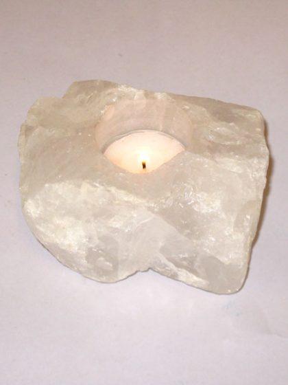 Bergkristall Teelicht