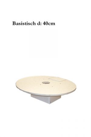 Hartschaum Basistisch d:40cm
