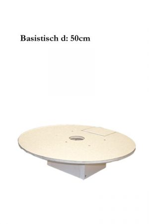Hartschaum Basistisch d:50cm