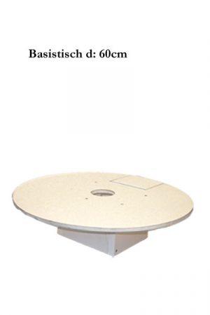 Hartschaum Basistisch d:60cm