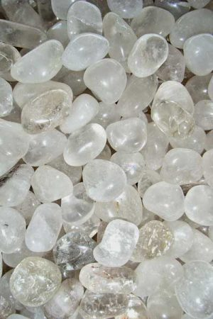 Bergkristall Trommelsteine