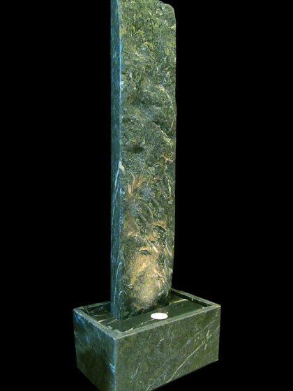 Serpentin-Wasserwand 166cm - Cloudy Levante