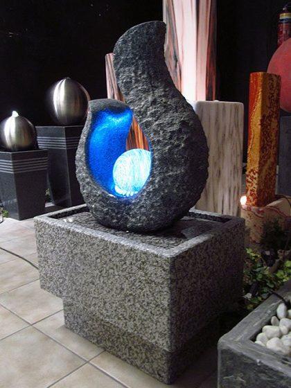 Kugelbrunnen Crystal-Flame
