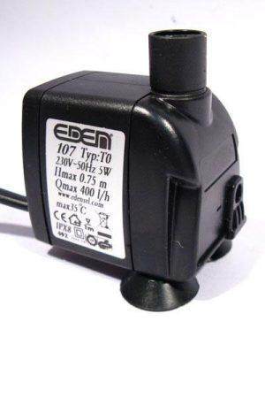Pumpe Eden 107 - 400l/h, 10m Kabel