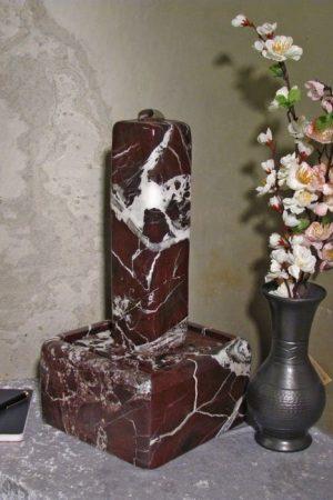 Stelenbrunnen Elazig-Rot 40 cm