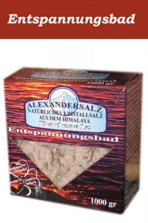 Alexandersalz Entspannungsbad