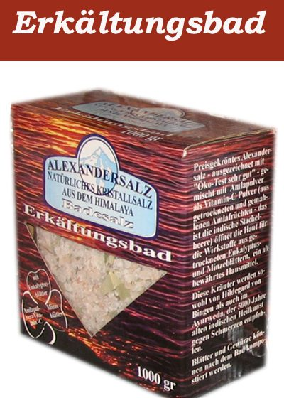 Alexandersalz Erkältungsbad