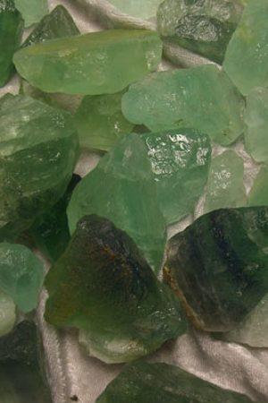 Fluorit Chips grün