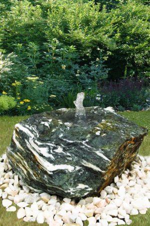Gartenbrunnen Flat-Rock-Serpentin