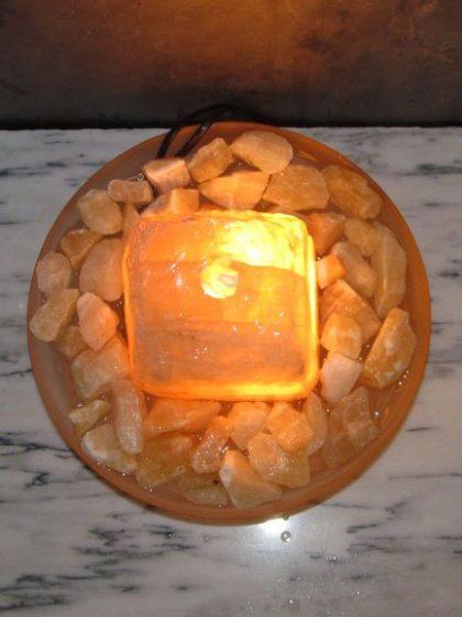 """Goldcalcit-Brunnen """"Gold-Star"""""""