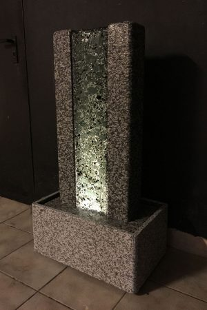 "Designer-Brunnen ""Crushed Ice"""