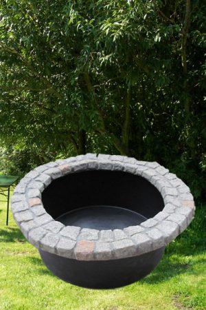 Beckenrand-Abdeckung im Granit-look 120cm