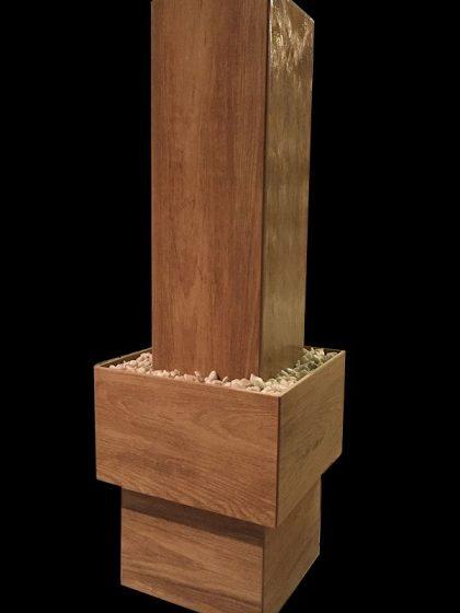 Zimmerbrunnen Eiche-hell 98 cm