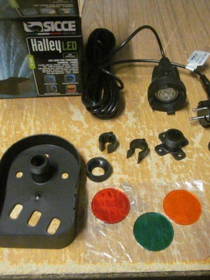 LED-Scheinwerfer Halley