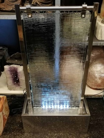 """Glas-Wasserwand """"Moderno"""""""