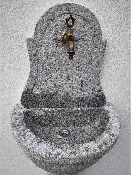 """Granit Wandbrunnen """"Lucca"""""""