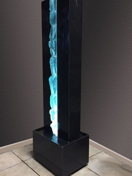 "Designer-Brunnen ""Ice In The Night"""