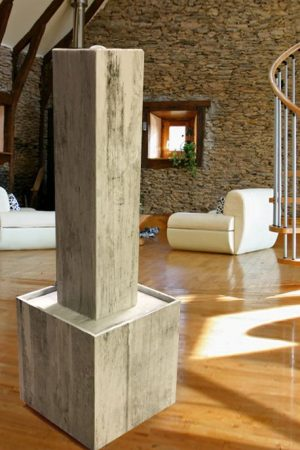 "Keramikbrunnen ""Vintage-Wood"""