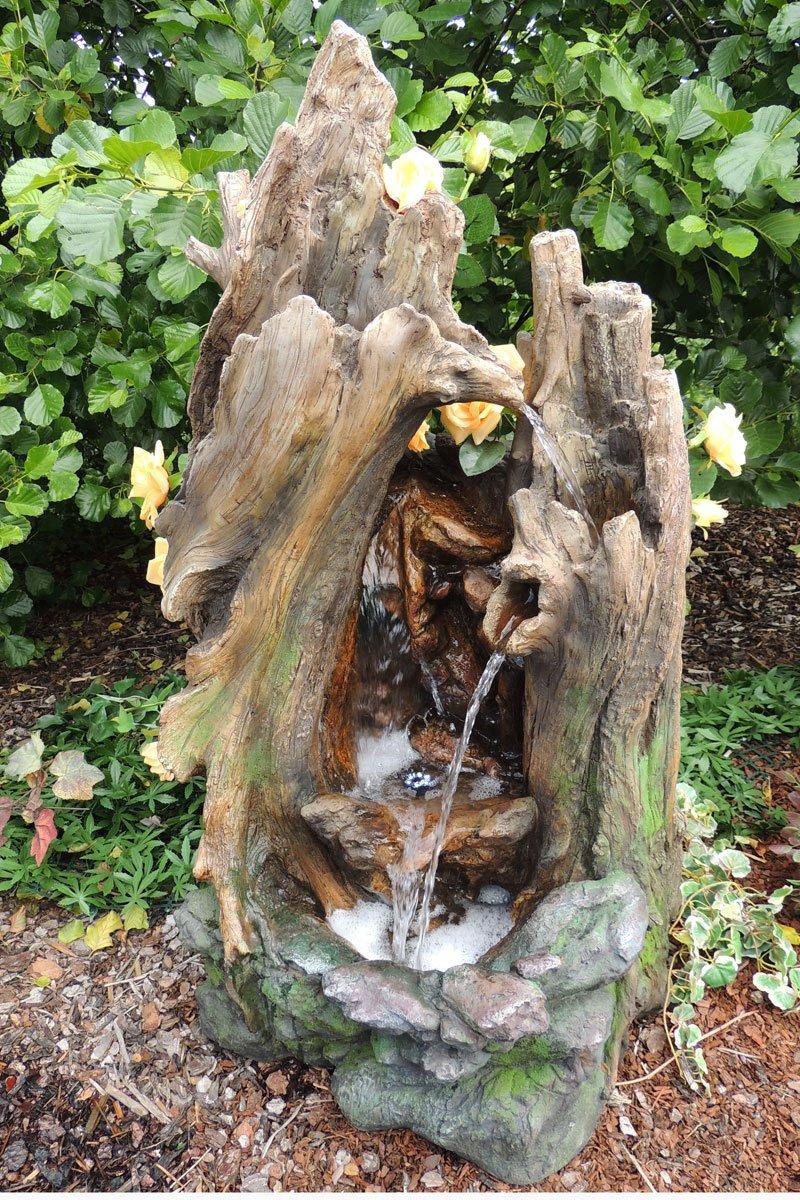 Lieche Polyresin Wasserfall   Trösters Brunnenwelt