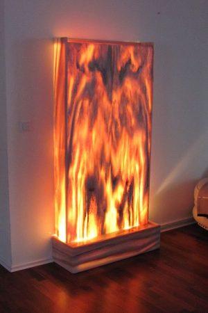 Lichtwasserwand Minerva 170 cm