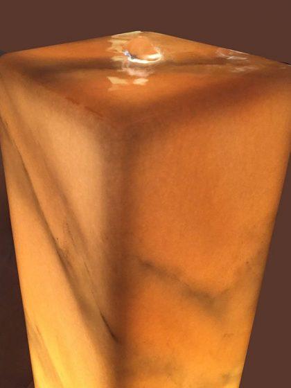 "Marmor-Lichtstele ""Melba"" 70 cm"