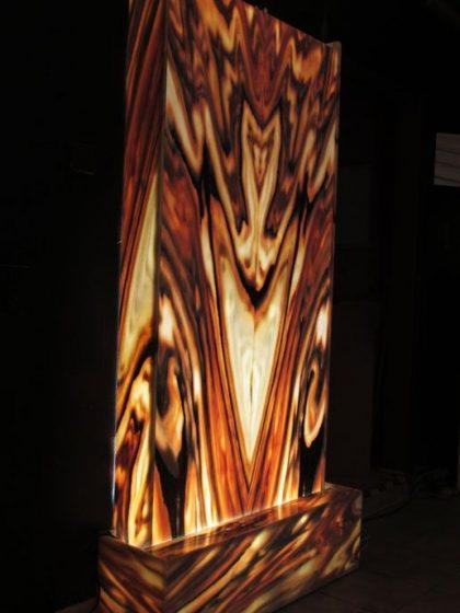 Lichtwasserwand Minerva Large 200 cm
