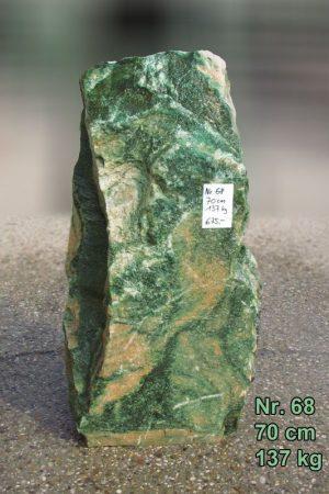 Lofoten-Grün-Quellstein Nr. 68, 70 cm