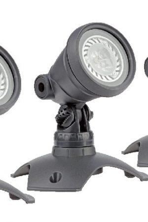 LUNAQUA 3 LED Set 3 Unterwasserscheinwerfer