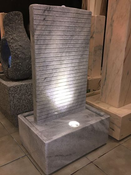 Marmor-Wasserwand Leonidi 92 cm