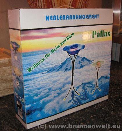 Nebelarrangement Pallas , weiss