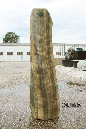 Onyx Oliv Quellstein 120cm,  Nr. OLG16-6