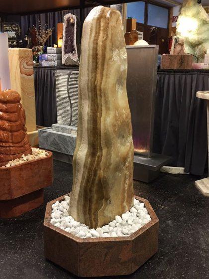 """Onyx-Brunnen """"Caramello"""" 117 cm"""