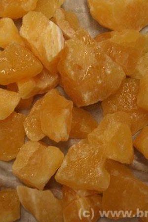 Orangencalcit Chips